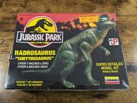 Vintage 1993 Lindberg Jurassic Park Hadrosaurus Dinosaur Model Toy Kit NIB