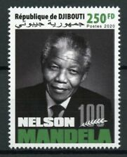Djibouti Famous People Stamps 2020 MNH Nelson Mandela Historical Figures 1v Set