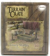 Terrain Crate MGTC132 Livery Stable (10 Pieces) Fantasy Scenery Accessories NIB