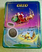 "Vintage 1995 OREO Collectible Tin ""Unlock the Magic"""