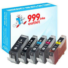 PGI-5BK and  CLI-8BK/Y Compatible Printer ink for Canon Pixma iP3500 - 5 Pack
