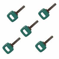 5 Volvo Loader and Haul Truck Heavy Equipment Laser Cut Ignition Keys 11039228