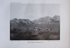 Liefmann: Powelss Plateau im Colorado-Canon - Originaldruck aus 1910 Foto print