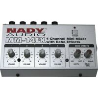 Nady MM-14FX Mini Line Mixer with Effects