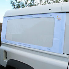 Window Template for Land Rover Defender 90 / 110 - Paper