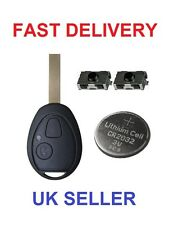 ROVER 75 MG ZT ZTT 2 BUTTON REMOTE KEY FOB CASE  COMPLETE REPAIR REFURBISH KIT