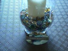 100 Piedras de Cristal Redondo Gris Nuggets Goth Florero mosiacs weddng plantadores de Navidad