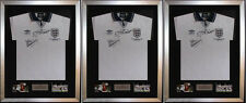 """3 X Frame For Signed Football Shirt plus any 2 Landscape 6"""" x 4"""" photos"""