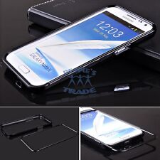 11 Colors Metal Aluminum Frame Bumper Case For Samsung Galaxy Note 2 II N7100