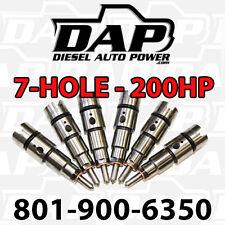 +200HP Performance Injectors 24v 98-2002 For Dodge Ram Cummins Turbo Diesel 5.9L