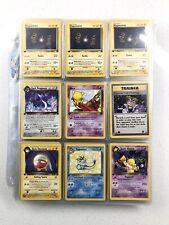 Pokemon Card Vintage Lot 1st Edition Non Holo Rare WOTC 1999