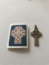 James Avery Sterling Silver Celtic Cross Religious Rare Retired Pendant 1980