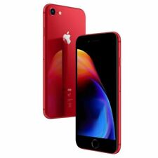 Apple iPhone 8 64GB Factory Unlocked - Red Smartphone A1863 IP67 4K 64 GB LTE