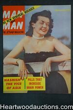 Man to Man Feb 1953 Milton Lesser Sci-Fi 1st App. Bunnie Yeager, Boxing - Ultra