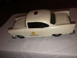 Vintage Dukes of Hazard Sheriff Car by HG toys 1980 Warner Brothers!!