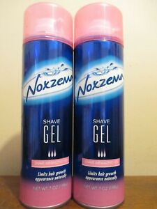 2x Noxzema shave gel shave minimizing 7 oz