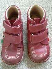 KICKERS LEATHER BOOTS CHILD SIZE 28
