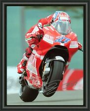 CASEY STONER  A4 SIGNED AUTOGRAPHED PHOTO POSTER  FREE POST