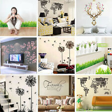 Removable Art Vinyl Wall Stickers Home Decor Mural Decal For Kids Room Bathroom