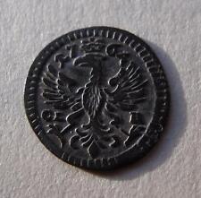 1764 German 1 Pfennig States BRANDENBURG-BAYREUTH Germany Coin EAGLE KM# 244