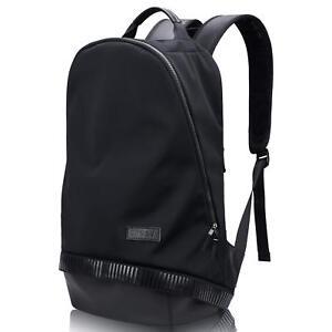 Laptop Rucksack Backpack Large Travel Business Mens Computer Black College Bag