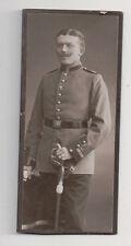 Vintage CDV Prussian German Soldier Military Uniform Sabre Samson & Co. Photo