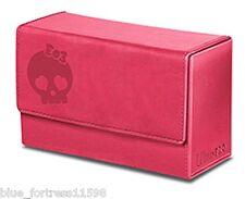 PINK GALAXY SKULL MANA DUAL FLIP BOX ULTRA PRO MAGNETIC DECK BOX CARD BOX MTG