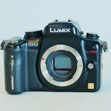 Panasonic LUMIX DMC-GH2 16.0MP Digital Camera Black Body only. Low SHTCNT: 6500