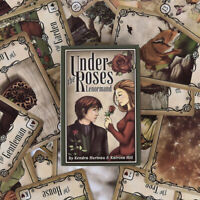 Under the Roses Lenormand 39 Card Deck the Clock Tower LOVE Oracle Tarot YK