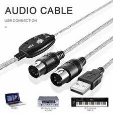 MIDI vers USB Cable Convertisseur PC a clavier de musique cable d'Adaptate