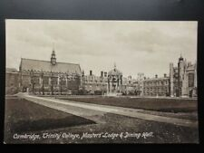 Cambridge: Trinity College Masters Lodge & Dining Hall c1917 by F.Frith No.26456