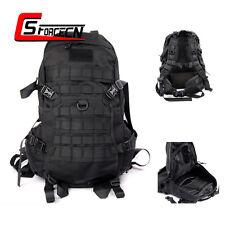 45L Military Tactical Assault Shoulder Bag Molle Backpack Day Pack Hiking Black