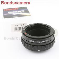 Kipon Nikon F G lens to Fujifilm X-Pro1 Fuji mount Macro Helicoid Adapter E2 T1