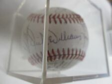 1985 San Diego Padres Team  Autograph Baseball w/Dick Williams, Garry Templeton