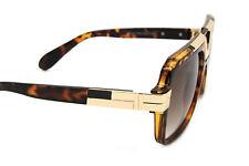 Designer Inspired Oversized Square Sunglasses Metal Bar Retro Frame Men Fashion