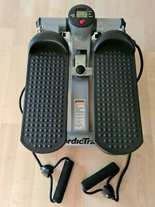 Nordic Track Mini Stepper w/ Arm Resistance Bands and Digital Display PreOwned