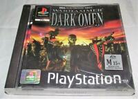 Warhammer Dark Omen PS1 PS2 PS3 PAL *Complete*