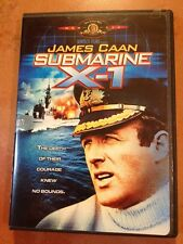 ☀️ Submarine X-1 DVD James Caan RARE OOP MINT English/Spanish Audio French Subti