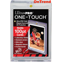 5 x Ultra Pro UV ONE TOUCH 100pt Magnetic Closure Card Holder Protector 64x89mm