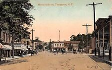 c.1910 Stores Orchard St. Tarrytown NY postcard Westchester county