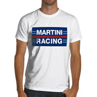 Martini Racing Classic T Shirt White or Gray S to 3XL Vintage Lancia Porsche