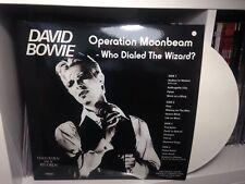 DAVID BOWIE, OPERATION MOONBEAM, RARE NUMB LTD ED 2 LP WHITE COLOR UK (SEALED)