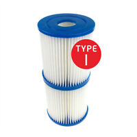 For Bestway Type I Inflatable Pump Swimming Pool Filter Cartridge Replacement