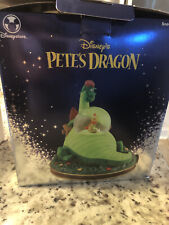 Rare! Disney Store Pete's Dragon Snowglobe Music Box Snow Globe Original Box Ex