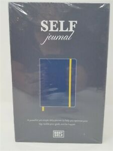 SELF Journal by BestSelf Undated 13-Week Planning, Productivity System (Navy)