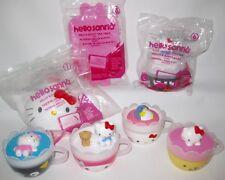 Hello Kitty Sanrio McDonalds Toy Tea Set 7-12 Piece 2017 Cups Creamer Pot