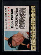 1961 POST CEREAL  #66 BOB WILSON BOX VG-EX F277