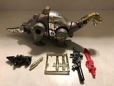 1982 Transformers G1 Autobot Dinobot Sludge Action Figure 100% Complete