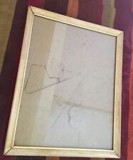 Metal Frame; Faux Maple Wood Grain, 8� x 10�
