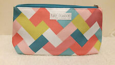Tyler Dawson For Clinique Abstract Multi Color Print Cosmetic Bag